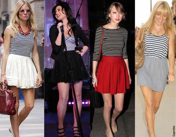 Na Moda: Looks com Listras!